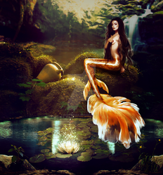 Golden Mermaid by IrisFerrara