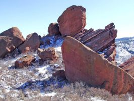 Red Rocks, CO 3 by Stock-by-Kai