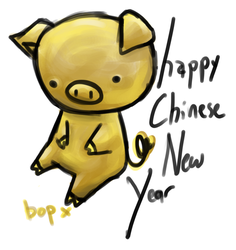 happy chinese new year by bopx