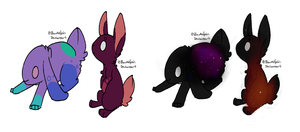 Bunny adoptables (open) 3 points each by TheOperatorsShadow