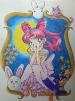 Sailor Moon - Kousagi  by Elveariel