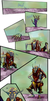 Dear Rider, Pg 30: Purple And Gold by Jeeaark