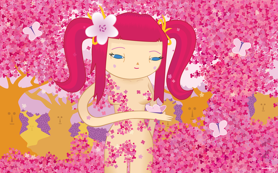 Cherry Blossom Girl by Couk