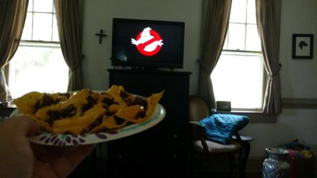 Nachos And The Real Ghostbusters On Netflix by OtakuDude83