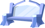 Crystal Bench by MisterAibo