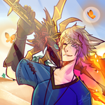 Icon Commission : Desert Glow by LucciolaCrown