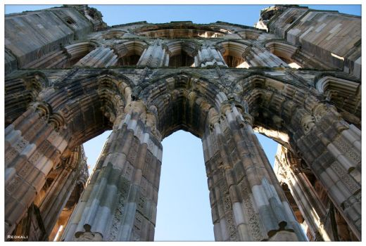 Elgin Cathedral III by redkali