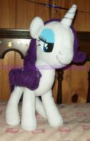 preview - Rarity plushie by Starshot-seeker