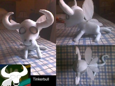 Tinkerbull plushie by wolfarctica