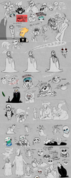 Shet post Compilation [undertale edition] by SasukiMimochi