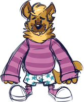 Striped sweater by Goronic