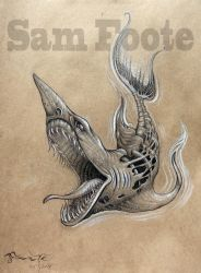 Demon Shark by Sam Foote by SamFoote
