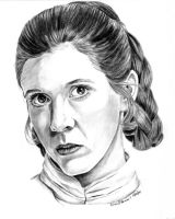 Bespin Leia by khinson