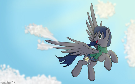 Dusky in Flight by Glaive-Silver