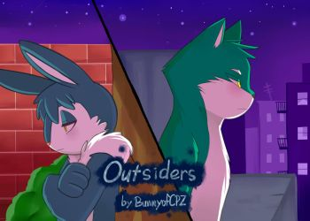 Outsiders Cover by AllforCartoons