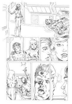 legion 2 pencils by edquinby