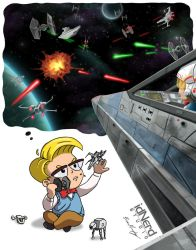 Dreaming Of Star Wars by BrianJMurphy
