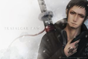 OP_Trafalgar Law by RainNoir