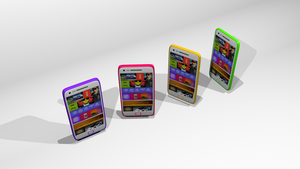 Casual render of cellphone with webpage on screen by messtwice