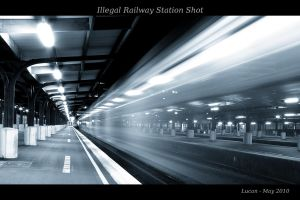 Illegal Railway Station Shot by lordlucan