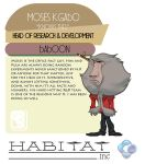 HABITAT.inc: Moses by dr-conz