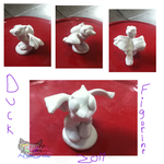 Duck figurine Practice by AngelCnderDream14