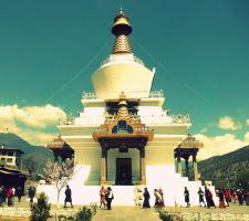 memorial chorten by AsHappyAsIGet