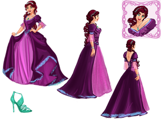 lady--Y's dress competition entry by Celerybandit