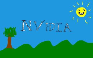 my tribute to nvidia by Fabian4D