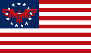 2nd Civil War Union Flag by VictorOttoway