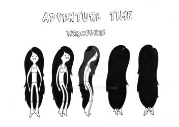 Marceline-Model Sheet Turn-around by Nes44Nes