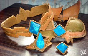 Armor pieces from Worbla by Cita-la-Star