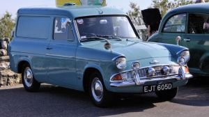 Ford Anglia panel-van by UdoChristmann