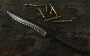 Combat Knife - Materials by The-5