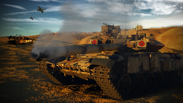 War Thunder T-90A // Scanning for Targets by BillyM12345