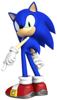 Sonic Official Pose Recreation by BlueParadoxYT
