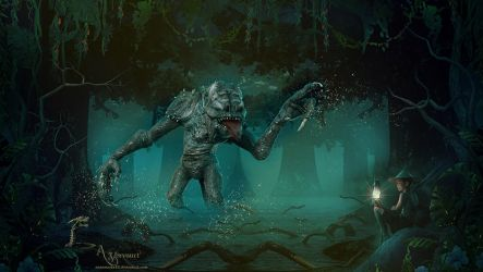The swamp thing by annemaria48