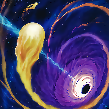 Cosmic Cyclone by NewArkantos