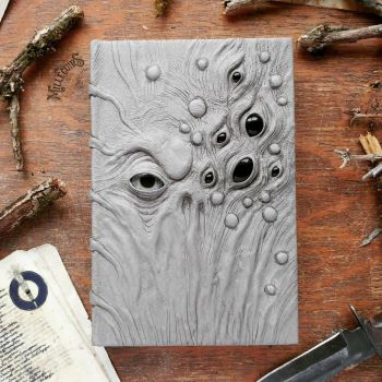 Untitled grimoire - gray and creepy by MilleCuirs
