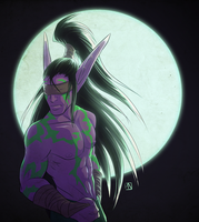 Illidan by Lucky-Atin