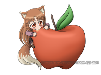 Spice and Wolf - Apple by AquaWaters