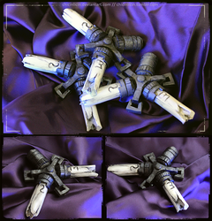 Dishonored - Bone Charms by chicinlicin