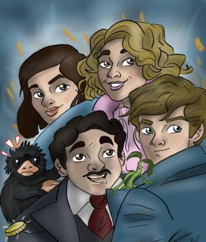 Fantastic Beast and Where to find them by AvengerBlackwidow