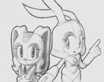 Cream and Bunny-guard by Zack113