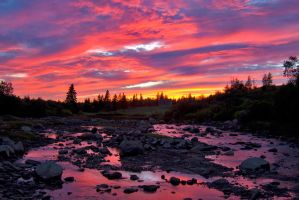 Maine Sunset by markroutt