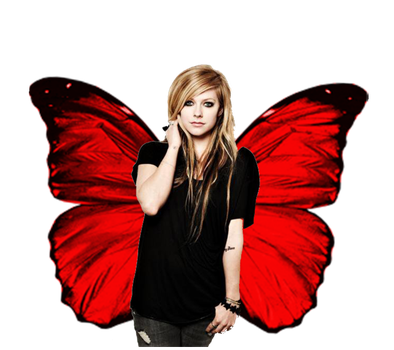 Avril Lavigne Angel PNG by GiuliiBieber