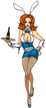 Waitress 1 by angrytalic