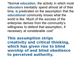 The Rise of Ignorance by paradigm-shifting