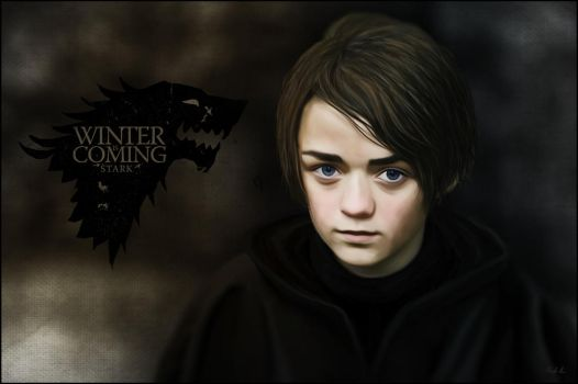 Arya Stark : Song of Ice and Fire by Cydel
