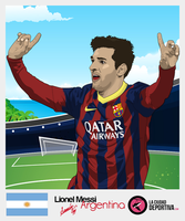 Template Lionel Messi by midosamir89